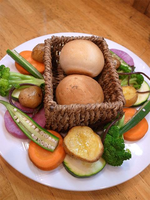 121003ロザリエッタ-バーニャカウダ・野菜