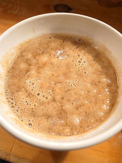 121020片らけ-k麺の親子盛りSP・つけ汁