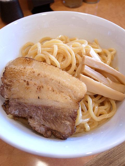 121026拉ノ刻岐阜-濃厚魚介つけめん・麺