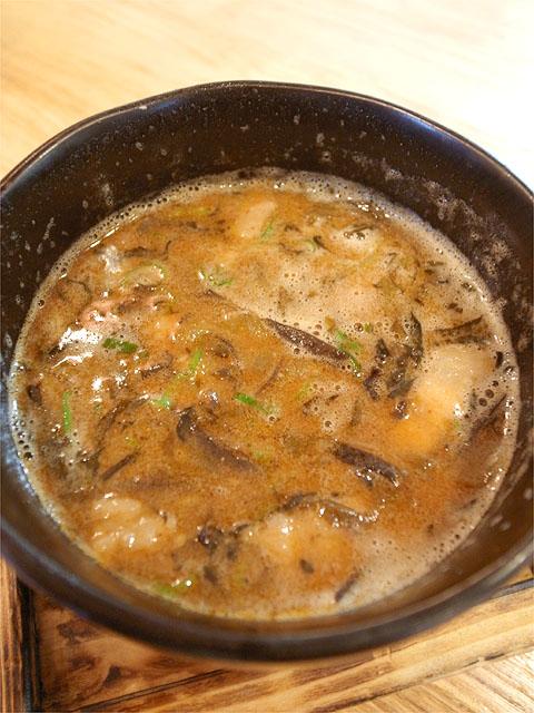 120811二代目-博多つけ麺全部のせ・つけ汁