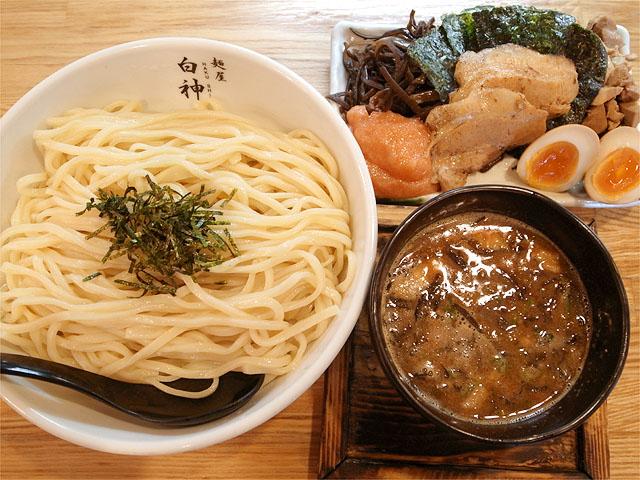 120811二代目-博多つけ麺全部のせ