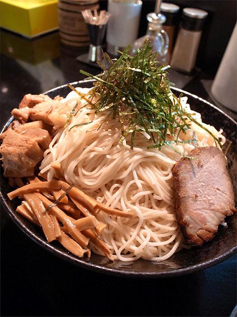 121122豚のつけ麺・麺