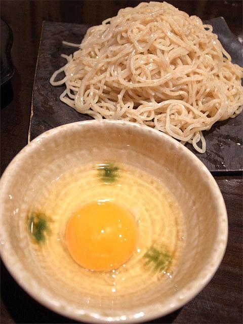 121117江戸YA-黒毛和牛モツ鍋つけ麺・麺