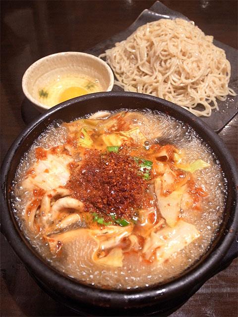 121117江戸YA-黒毛和牛モツ鍋つけ麺