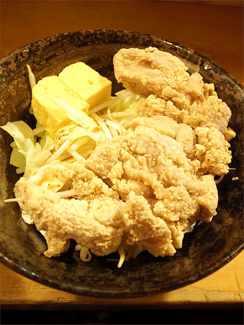 121205ら・けいこ東片端-k麺のフライドチキン