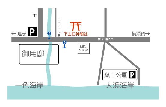神明社あさいち_MAP