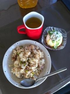 豚肉チャーハンウィズ豆腐