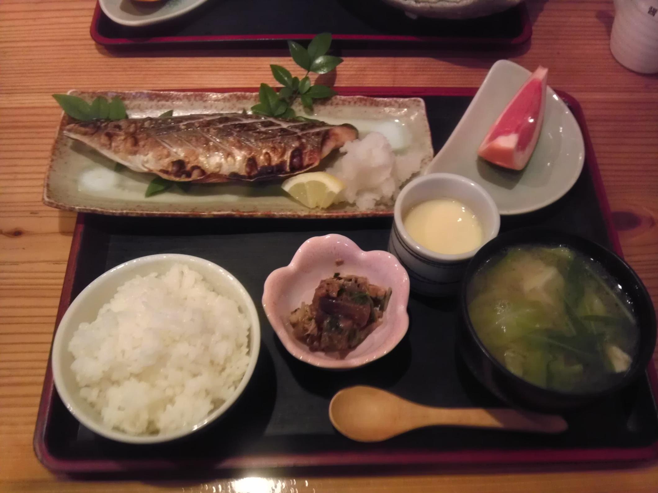 焼き鯖定食