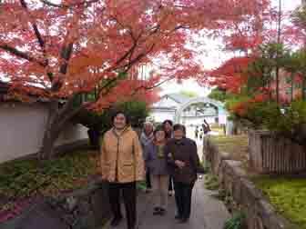 観音寺の紅葉1