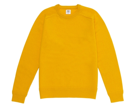KN01 CREW-NECK KNIT YELLOW_R