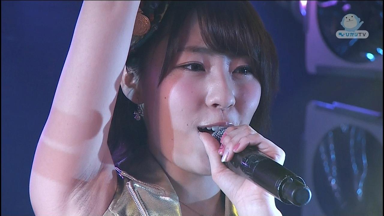 NMB48・藤江れいなの腋がジョリジョリ 藤江れいなのワキ毛