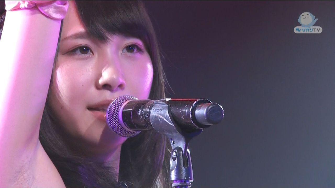 NMB48・高橋朱里の腋がジョリジョリ 高橋朱里のワキ毛