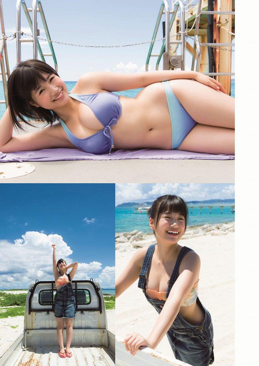 HKT48・朝長美桜の週刊プレイボーイグラビア