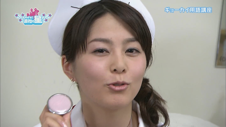 NHK・杉浦友紀アナのナースコスプレ