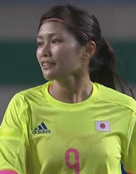 なでしこ川澄奈穂美がアジア大会2014韓国戦で乳首ぽっち