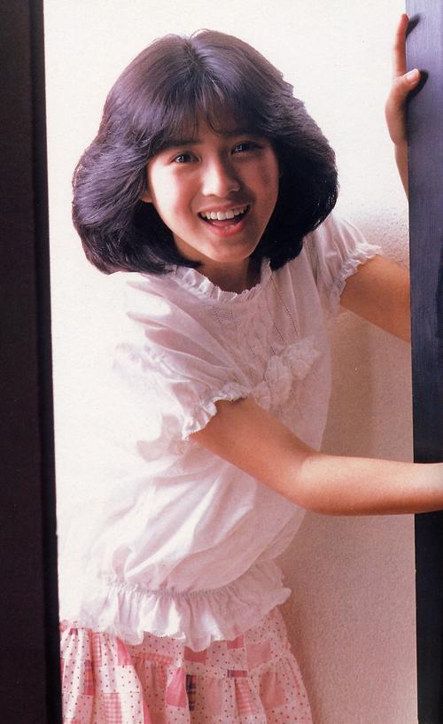 アイドル時代の西村知美