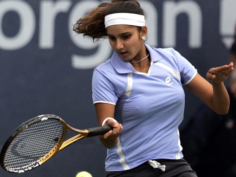 巨乳過ぎるテニスプレーヤー、サニア・ミルザ