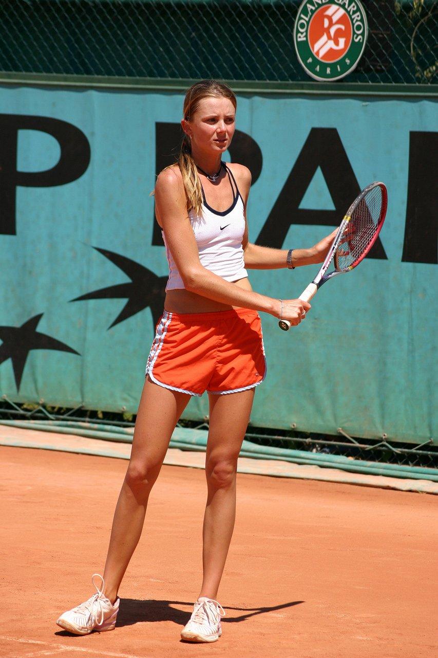 乳首ポチしてる女子テニス選手