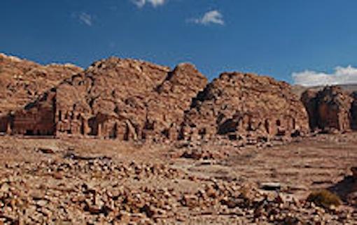 ペトラ遺跡 王家の墓