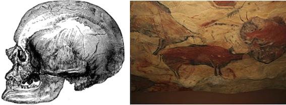クロマニヨン人とアルタミラ洞窟壁画