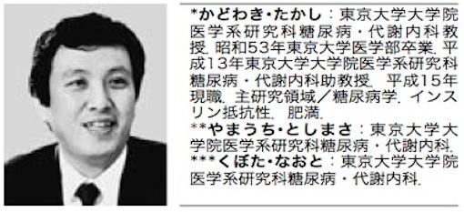 アディポネクチン論文 門脇氏