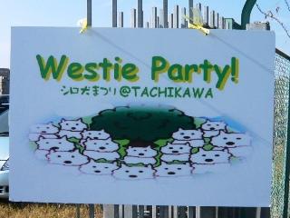 2011 Westie Party@TACHIKAWA