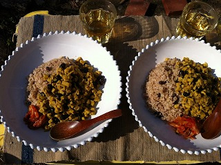黒豆と高野豆腐のキーマカレー