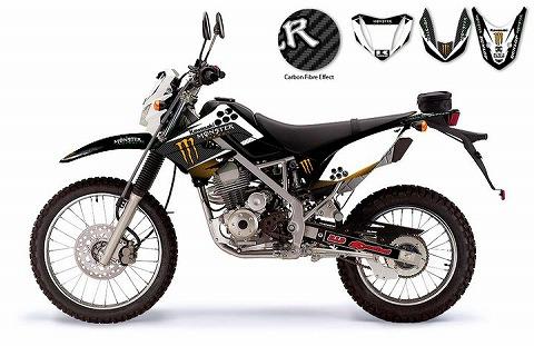 BCG KLX 150 - Kawasaki Monster Energy Factory Racing - Black Carbon