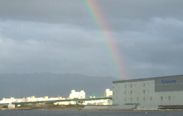虹は出てもアタリは出ません(>_
