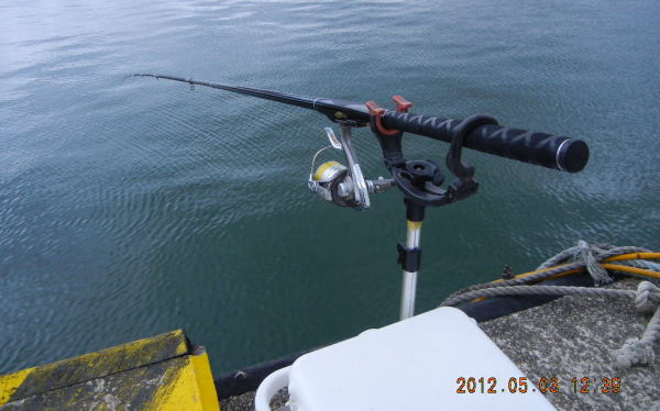 12:39 釣り開始