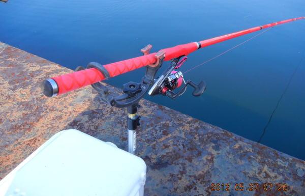 7:26 釣り開始
