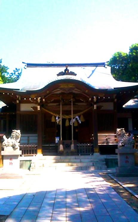 神鳥前川神社(産土神社・たく・えり)