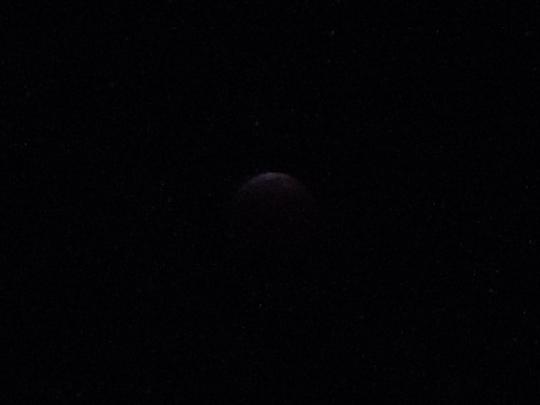 皆既月食満月 島根県益田市 H261008