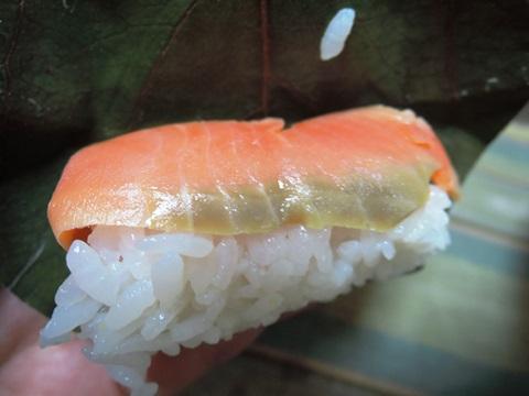 柿の葉寿司④