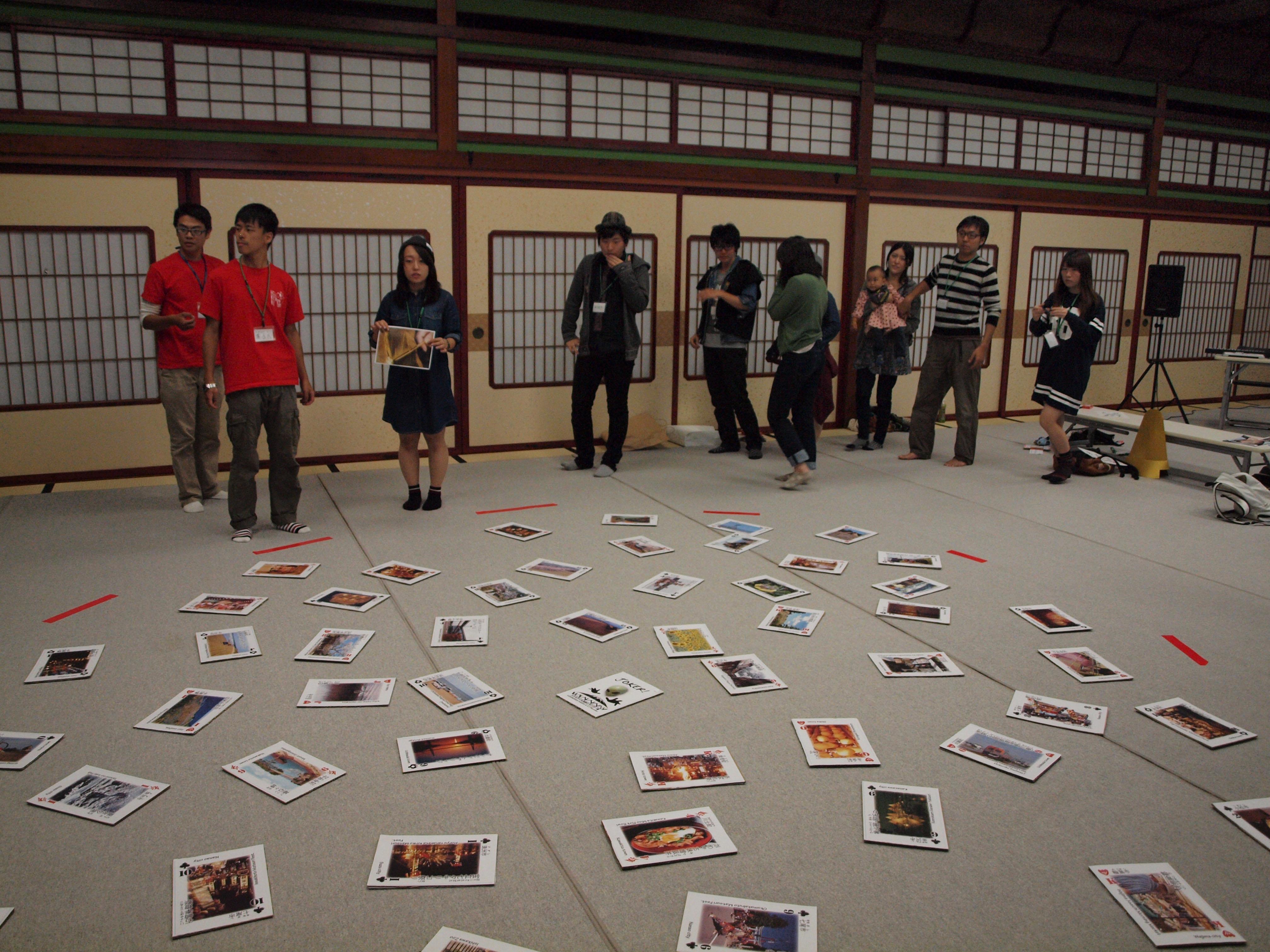 ゲームその3「ITかるた」 石川トランプかるた です