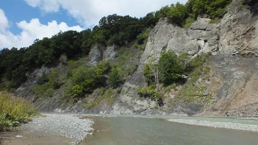 額平渓谷、平取 (6)
