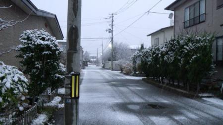 雪降り みに