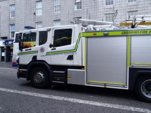 白い消防車