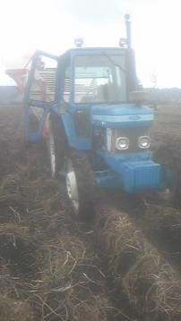 ジャガイモ収穫最終日