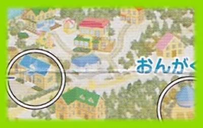 シルバニア村 地図 2002 冬 お医者さん