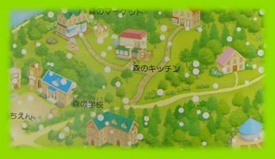 シルバニア村 地図 2001 12 拡大