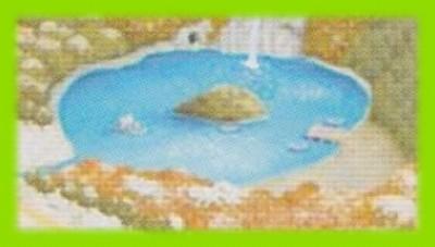 シルバニア村 地図 2002 冬 拡大