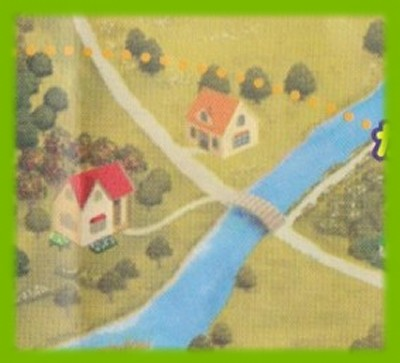 シルバニア村 地図 2003 秋 拡大