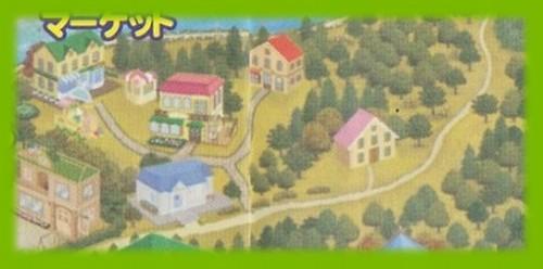 シルバニア村 地図 2003 秋 拡大2