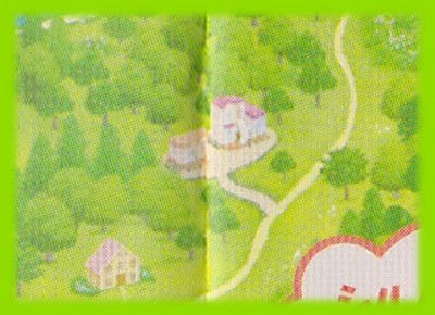 シルバニア村 地図 2005 写真屋さん
