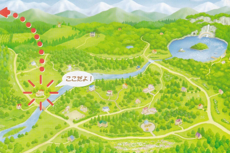 シルバニア村 地図 2006-12