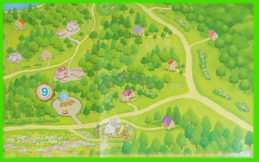 シルバニア村 地図 2010 右下