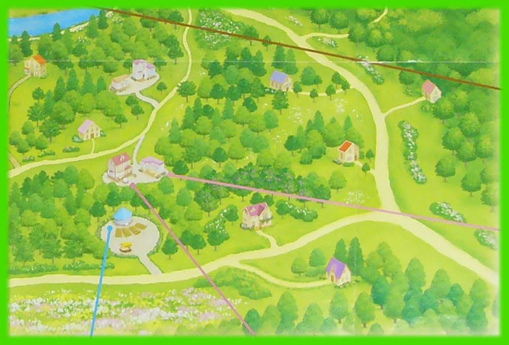 シルバニア村 地図 2007 右下