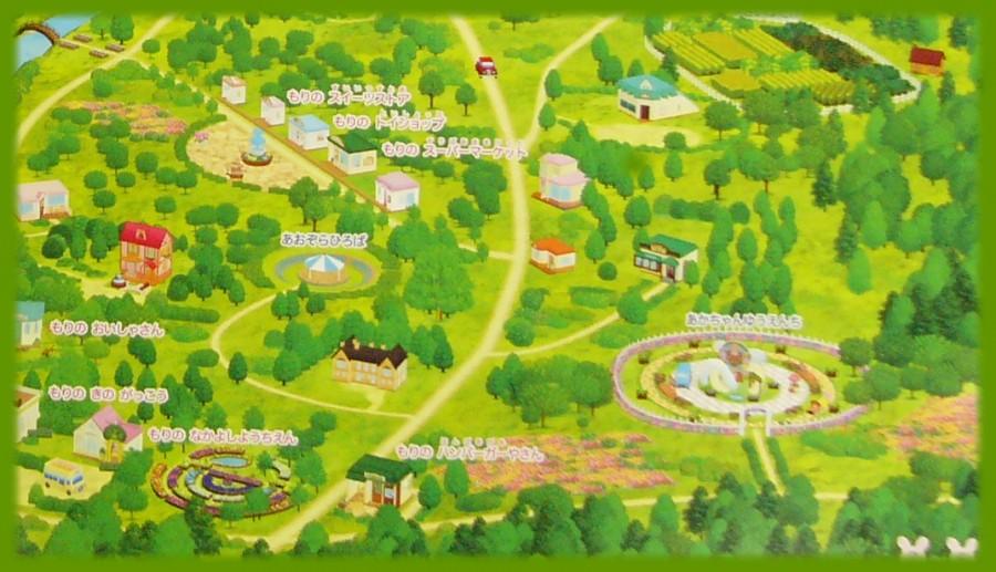 シルバニア村 地図 2014 右下