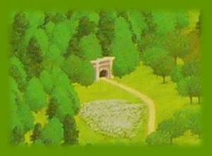 シルバニア村 地図 2014 トンネル